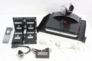 Polycom HDX 8000 HD w/ MPTZ-9 Eagle Eye 1080p Camera & Microphone Array Main
