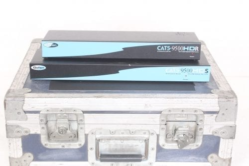 Gefen CAT5 9500HD Sender and Receiver Unit w/Case - Front