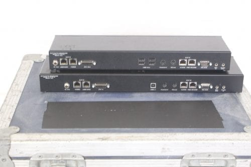 Gefen CAT5 9500HD Sender and Receiver Unit w/Case - Back