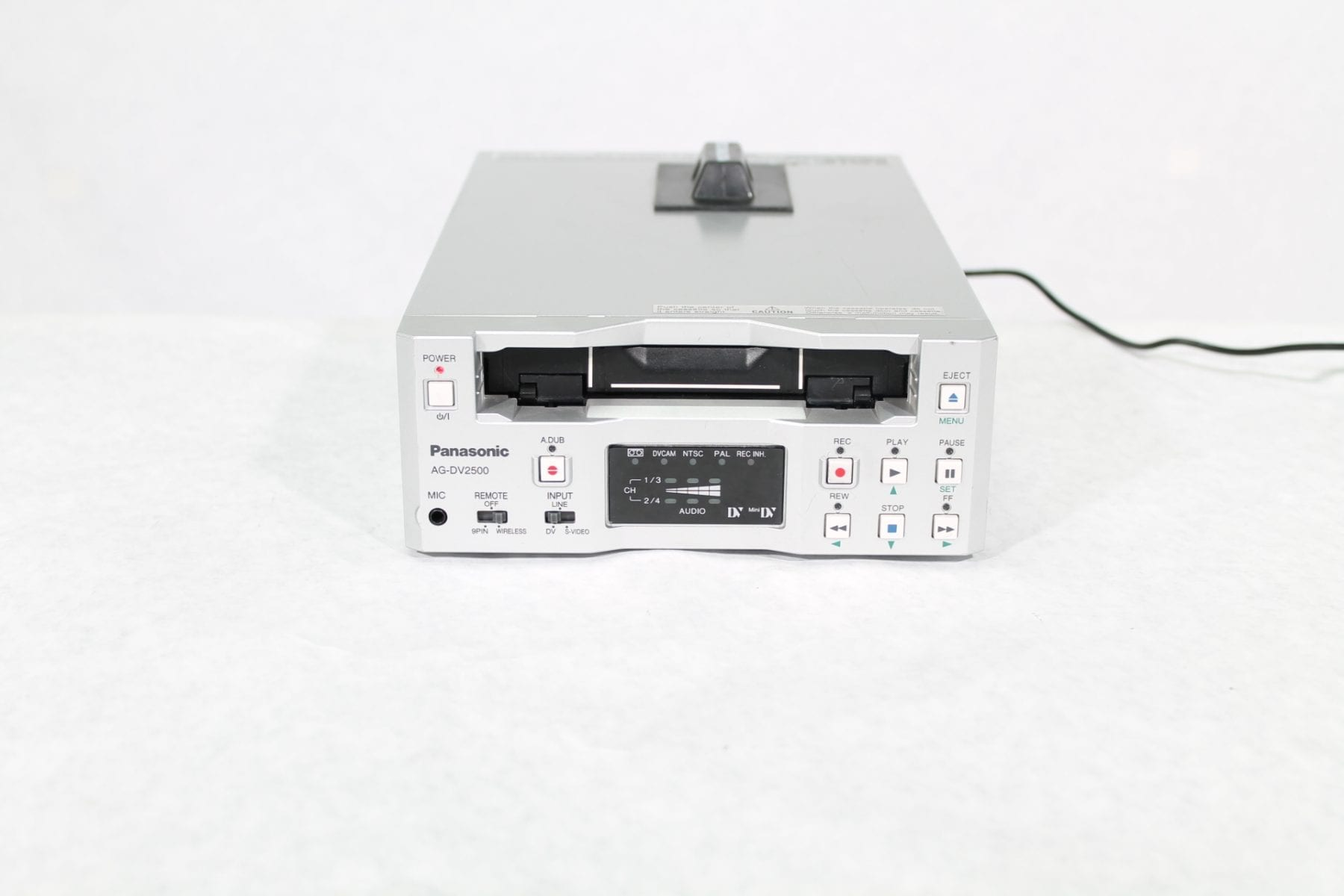 Panasonic AG-DV2500P Mini DV DVCAM VCR DECK NTSC/PAL Main
