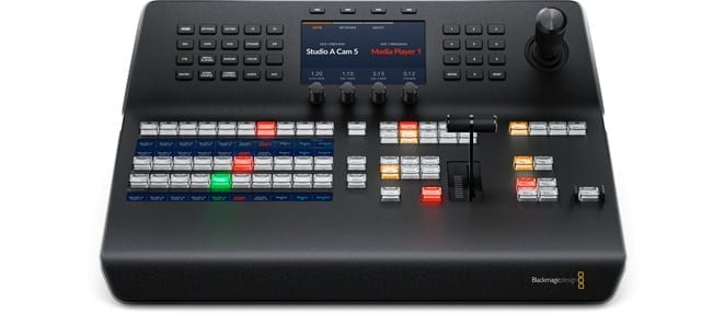 ATEM 1 M/E Advanced Broadcast Panel Front