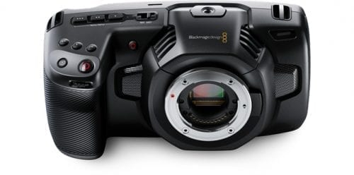 Blackmagic Pocket Cinema Camera 4K Front