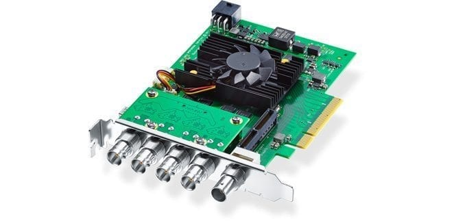 Blackmagic Design DeckLink 8K Pro Front