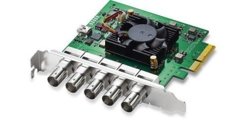 Blackmagic Design DeckLink Duo 2 Front