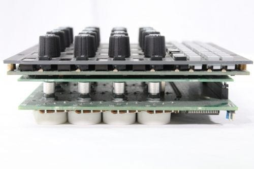 AMS Neve DFC 4 Channel Module As Parts, AW3536 Side2