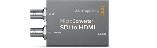 Micro Converter - SDI to HDMI w/Power Supply Front