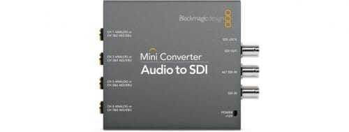 Mini Converter - Audio to SDI 2 Front