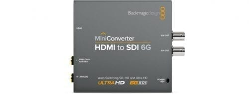 Mini Converter - HDMI to SDI 6G Front