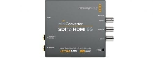Mini Converter - SDI to HDMI 6G Front