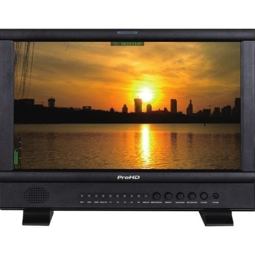JVC DT-N17H ProHD 17.3-INCH STUDIO/FIELD LCD MONITOR Front