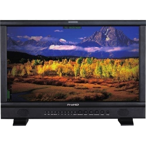 JVC DT-N21H ProHD 21.5-INCH BROADCAST STUDIO LCD MONITOR Front