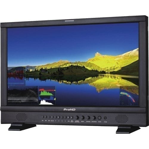 JVC DT-N24F ProHD 23.8-INCH BROADCAST STUDIO LCD MONITOR Front