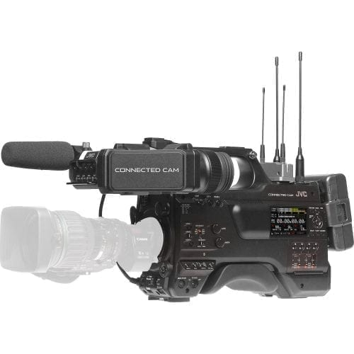 JVC GY-HC900C20 CONNECTED CAM™ 2/3-IN BROADCAST CAMCORDER W/CANON 20X LENS Front