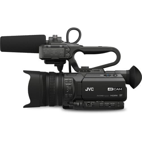 JVC GY-HM200HW HOUSE OF WORSHIP STREAMING CAMCORDER Side