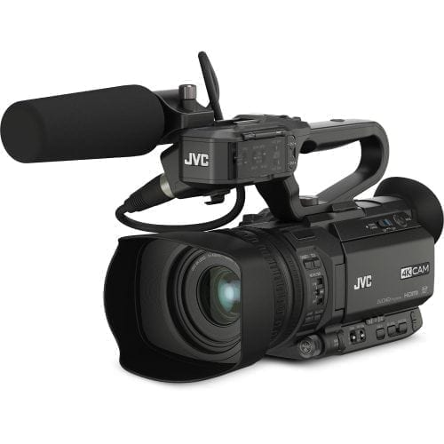 JVC GY-HM200HW HOUSE OF WORSHIP STREAMING CAMCORDER Front