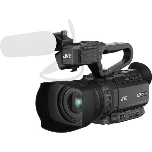 JVC GY-HM200SP SPORTS PRODUCTION STREAMING CAMCORDER Front