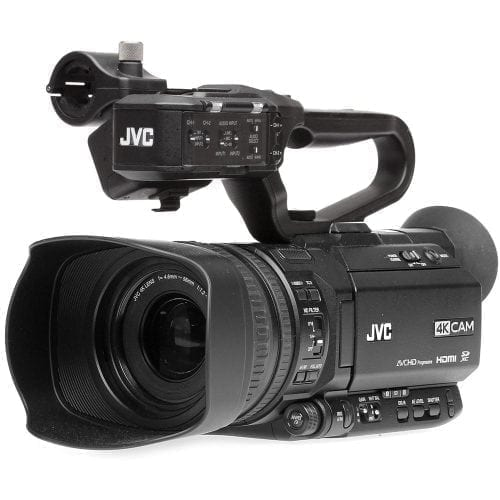 JVC GY-HM250SP SPORTS PRODUCTION STREAMING CAMCORDER Front