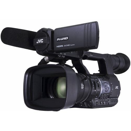 JVC GY-HM660U ProHD MOBILE NEWS CAMERA Front