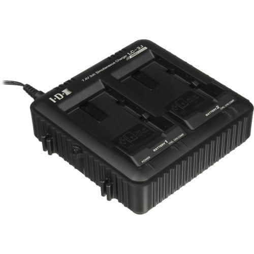 JVC LC-2J 2 CHANNEL CHARGER FOR SSL-JVC50/75 LITHIUM ION BATTERY Rear
