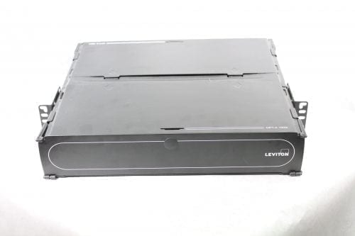 Leviton 5R2UM-F06 Enclosure, Rack Mount, Opt-x 1000i, 2RU Front