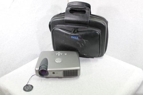 Dell DLP 3200MP Projector- 512 Hours w/ Remote & Soft Case Bundle