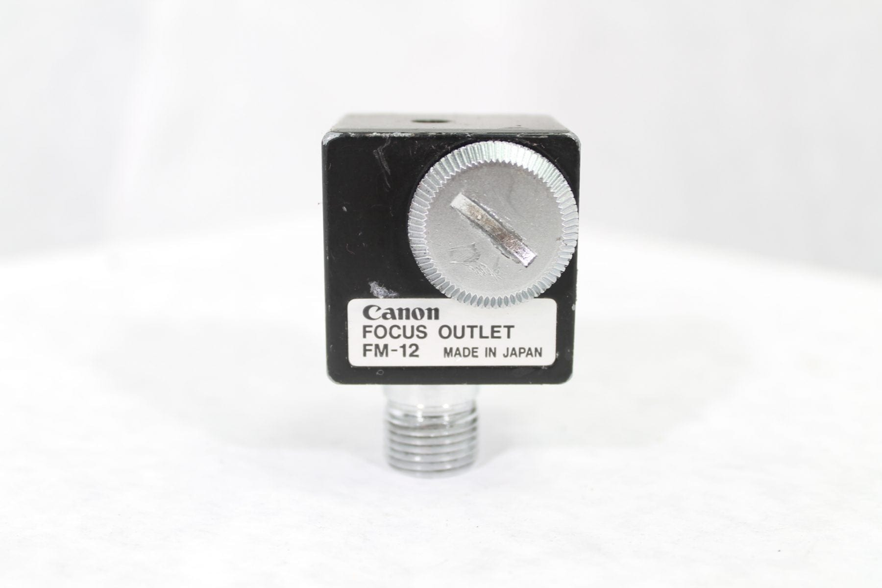 Canon FM-12 Focus Outlet Label