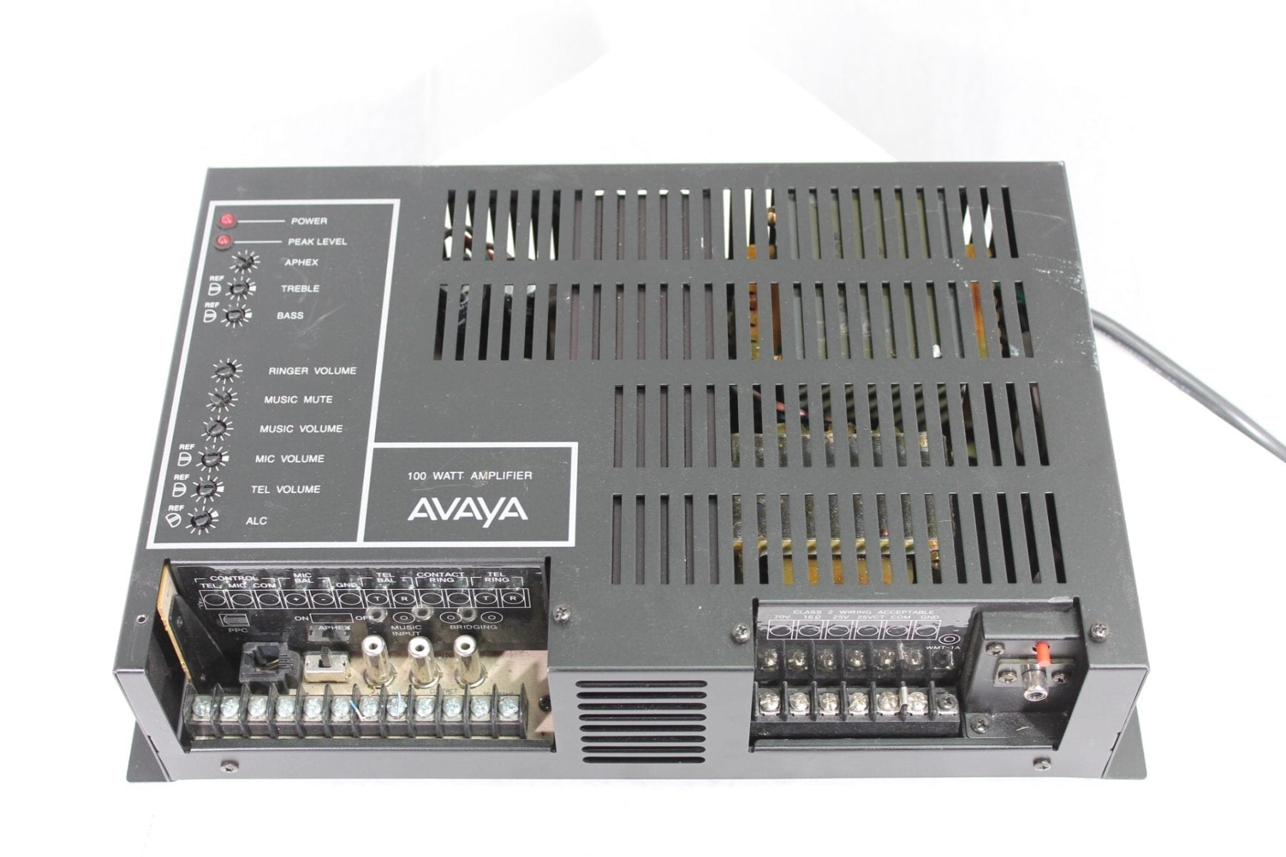 Avaya Lucent LU100WAMP 100 Watt Paging Amplifier Front