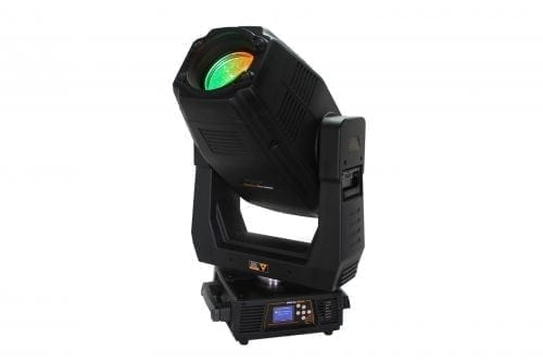 SolaSpot Pro 2000 LED Moving Head w/ ATA Case Front