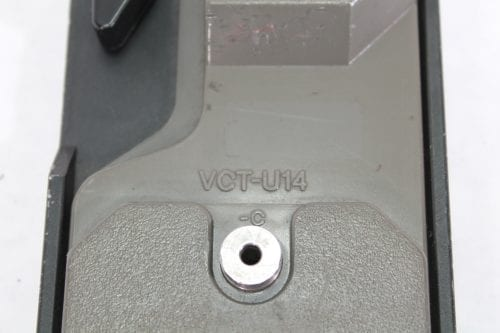 Sony VCT-U14 Tripod Plate for Pro Cameras Label