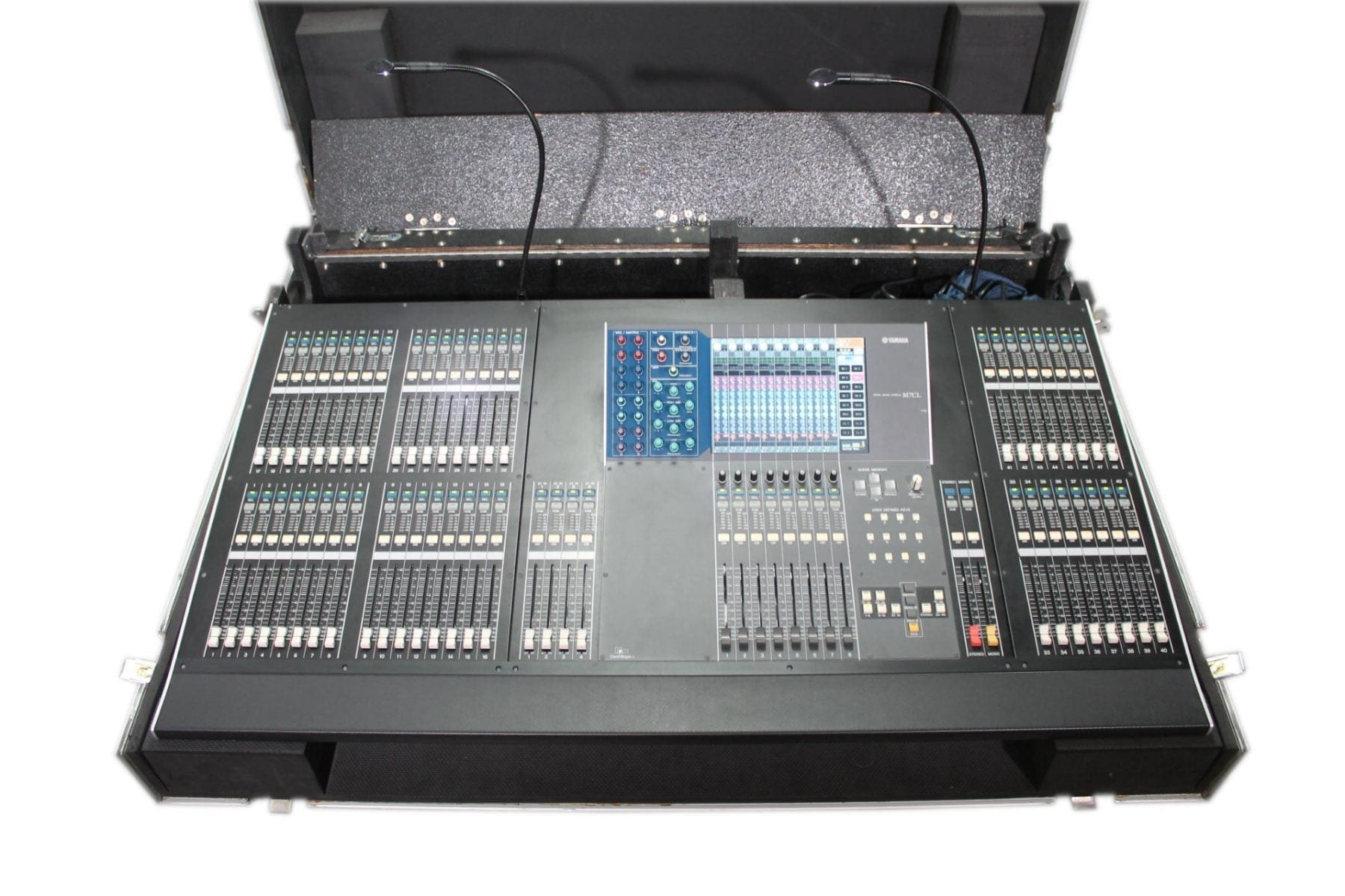 Yamaha M7CL-48ES Digital Mixing Console Version 3 w/ ATA Case AV Gear Main