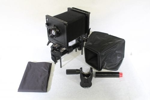 Sinar F 4x5 Monorail Large Format View Camera - Rodenstock 210mm f/5.6 Lens w/ Case & Extension Tube AV Gear Main