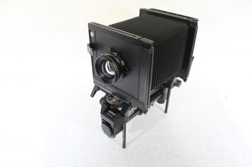 Sinar F 4x5 Monorail Large Format View Camera - Rodenstock 210mm f/5.6 Lens w/ Case & Extension Tube AV Gear Front1