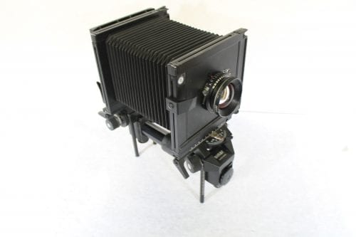 Sinar F 4x5 Monorail Large Format View Camera - Rodenstock 210mm f/5.6 Lens w/ Case & Extension Tube AV Gear Front2