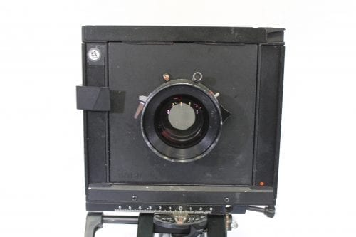 Sinar F 4x5 Monorail Large Format View Camera - Rodenstock 210mm f/5.6 Lens w/ Case & Extension Tube aV Gear Front3