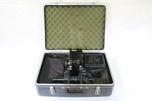Sinar F 4x5 Monorail Large Format View Camera - Rodenstock 210mm f/5.6 Lens w/ Case & Extension Tube AV Gear Case1