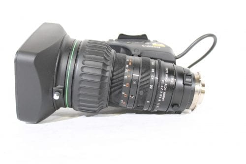 """Canon YJ19x9B4 KRS SX12 2/3"""" Zoom Lens Side1"""