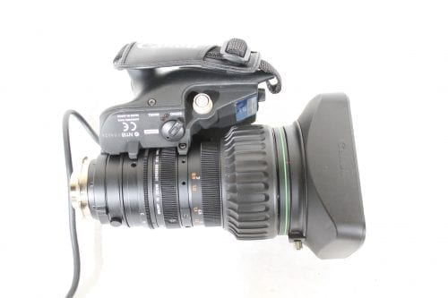 """Canon YJ19x9B4 KRS SX12 2/3"""" Zoom Lens side2"""