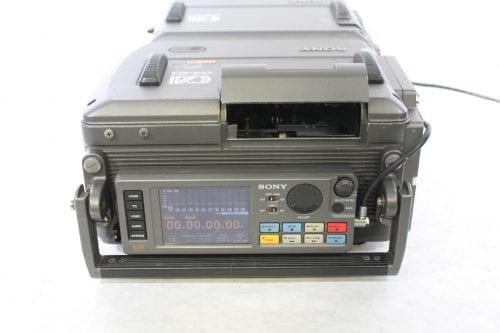 Sony SRW-1 SRPC-1 HDCAM SR Portable Digital Recorder w/ HKSR 102 / 103 Boards - 2137 Drum Hrs Front