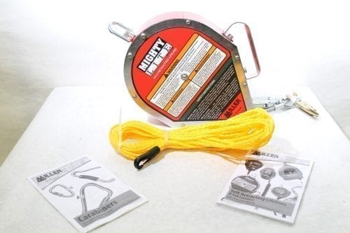 AVGear Miller MightyLite Self-Retracting Lifeline 50 ft