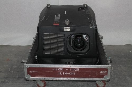 Barco FLM HD20 20k Lumens 1080p HD DLP Projector in ATA Case - 0 Lamp Hrs + Spare Lamp (1A) Main