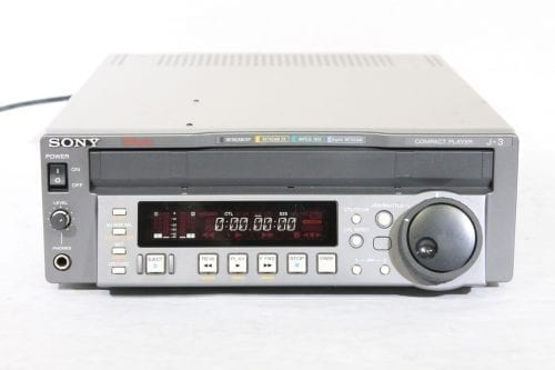 Sony J-3 Component 901 Digibeta Betacam SP / SX / MPEG Compact Player w/ ATA Case - 1328 Drum Hrs Main