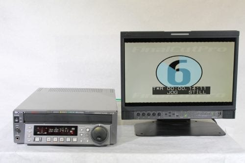 Sony J-3 Component 901 Digibeta Betacam SP / SX / MPEG Compact Player w/ ATA Case - 1016 Drum Hrs (1b) Test