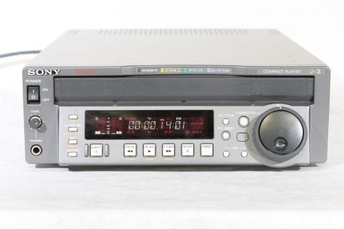 Sony J-3 Component 901 Digibeta Betacam SP / SX / MPEG Compact Player w/ ATA Case - 1016 Drum Hrs (1b) Main