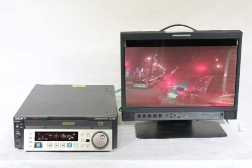 Sony J-H3 HDCAM Digital Videocassette Compact Player w/ ATA Case - 2877 Drum Hrs (1f) Test