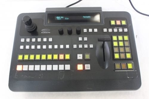 Broadcast Pix Slate 2100 Control Panel & iBoB Intelligent Break-out Box Front2