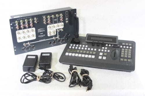 Broadcast Pix Slate 2100 Control Panel & iBoB Intelligent Break-out Box Main