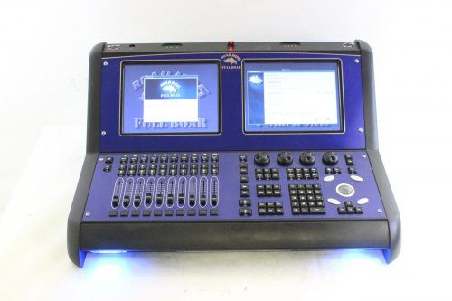 High End Systems Road Hog 3 Full Boar w/ Case & Keyboard & Lights & PS - FRONT