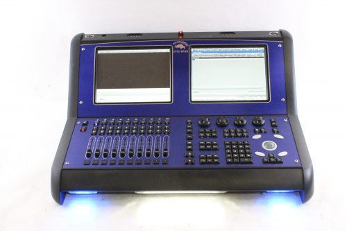 High End Systems Road Hog 3 Full Boar w/ Case & Keyboard & Lights & PS - FRONT2