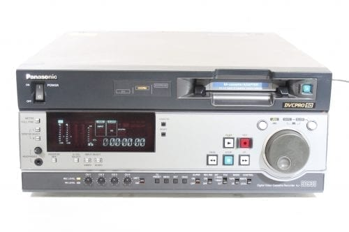 Panasonic AJ-SD930BP SDI DVCPRO Recorder w/ AJ-YAD955G Interface Board 4882 Hrs Main