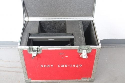 """Sony LMD-1420 14"""" Professional Series LCD Monitor w/ Case (1f) Case2"""